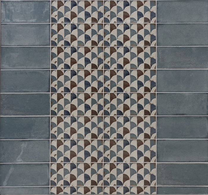 Esenzia Gondola Patterned Wall Tiles from Tile Mountain