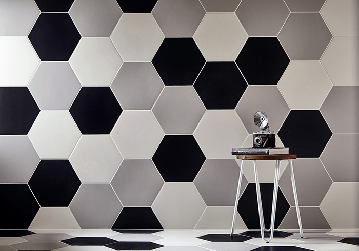 Apollo Hexagon Tiles from Tile Mountain