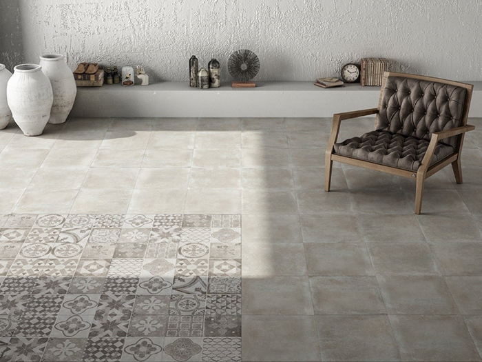 Moliere Décor Mix Floor Tile from Tile Mountain