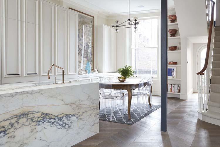 Blakes London Marble Kitchen Island