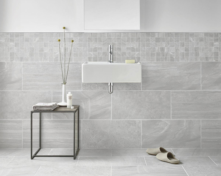 Inverno Grey Wall and Floor Tile from Tile Mountain
