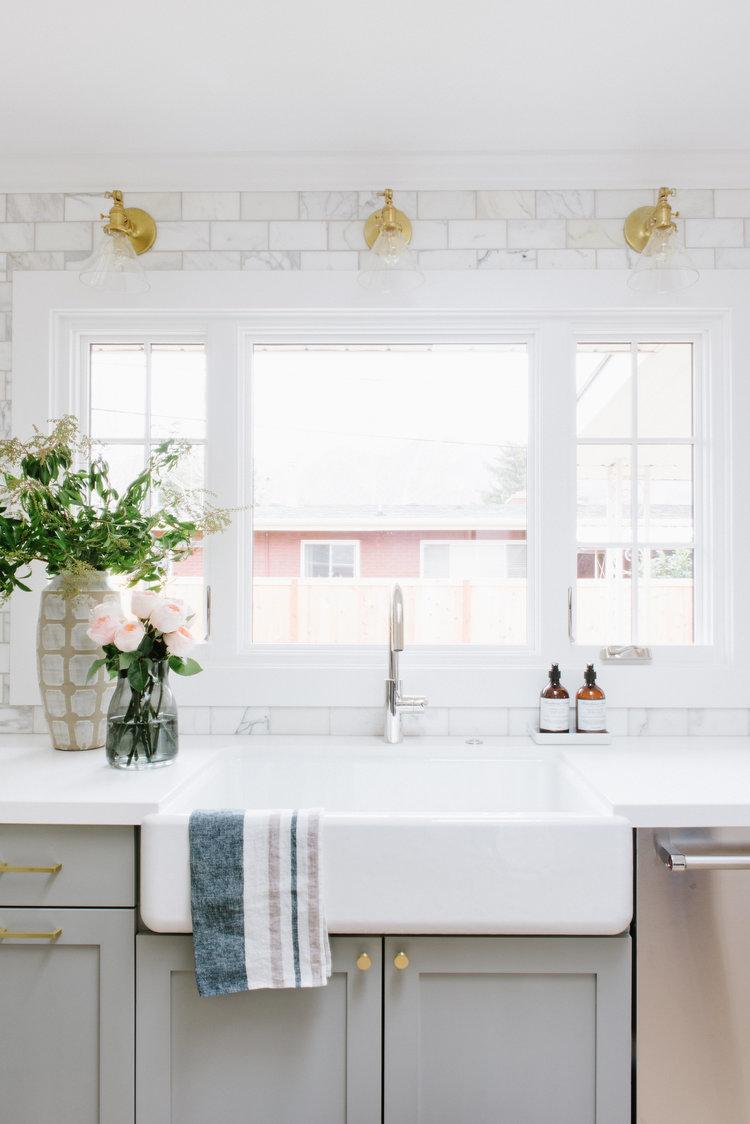 Studio McGee Marble Metro Tiles in the Kitchen