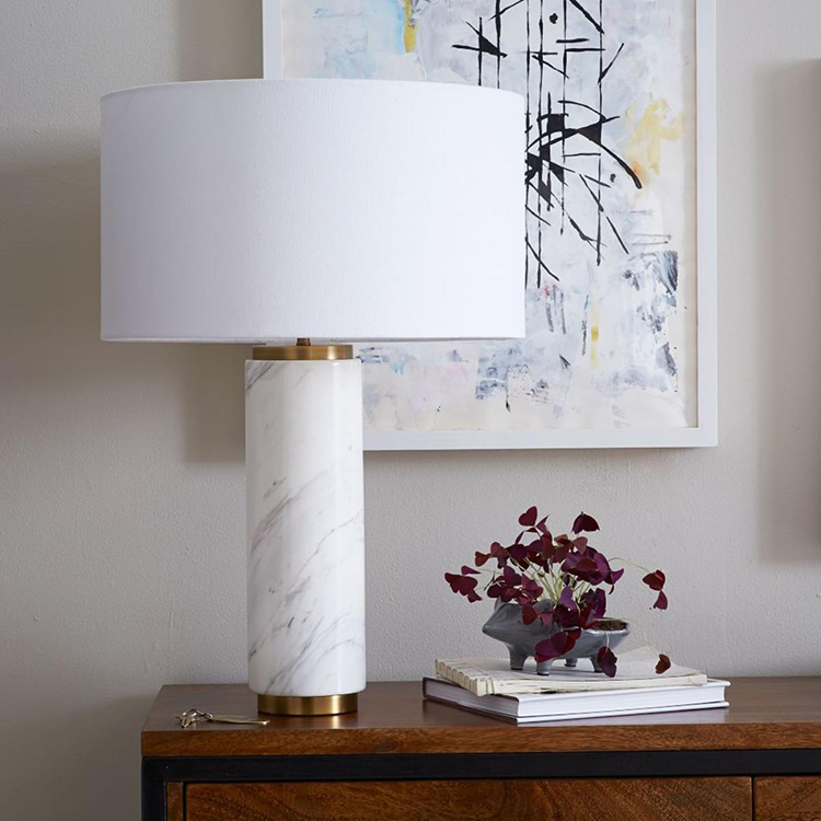 Marble Lamp from West Elm