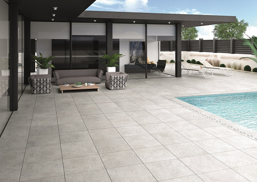 Livermore Pearl Outdoor Slab Tiles from Tile Mountain