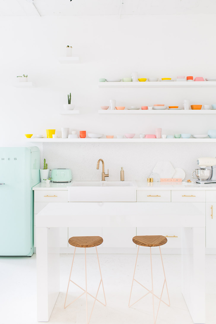 How to Use Pastels in Your Kitchen - Tile Mountain