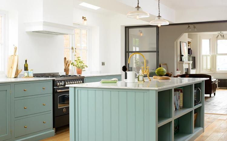 Pastel Kitchen Cabinets DeVOL Kitchens