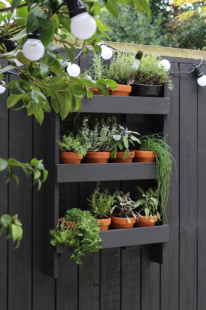 Hanging Herb Garden Growing Spaces
