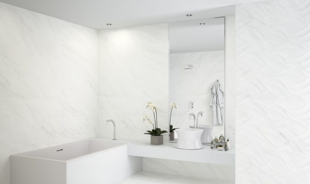 Bernini Marble Effect Wall Tile from Tile Mountain