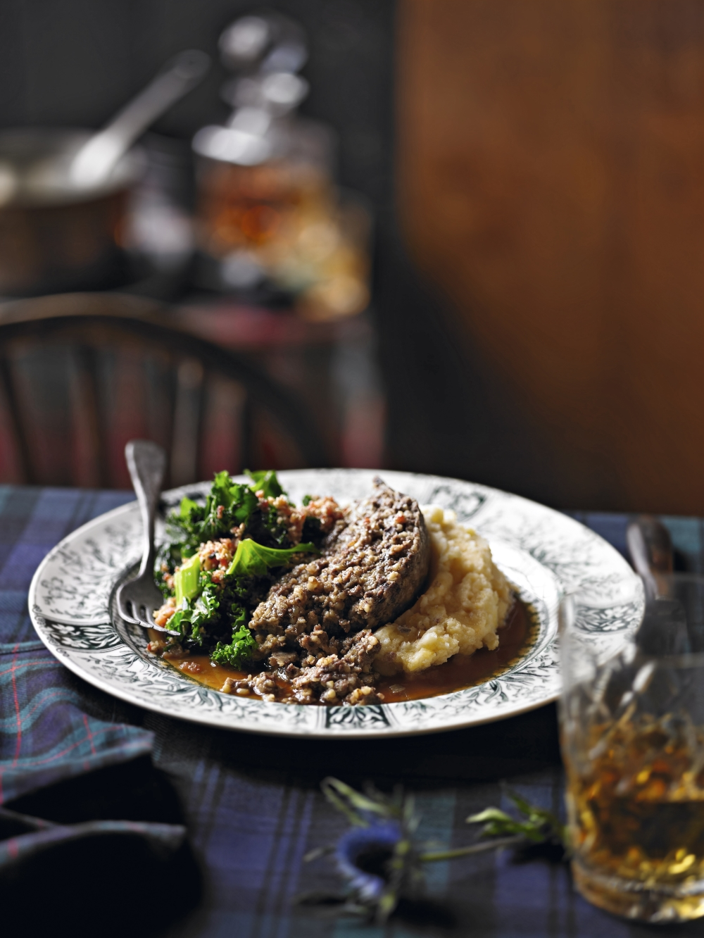 Haggis with Whiskey Gravy | Waitrose