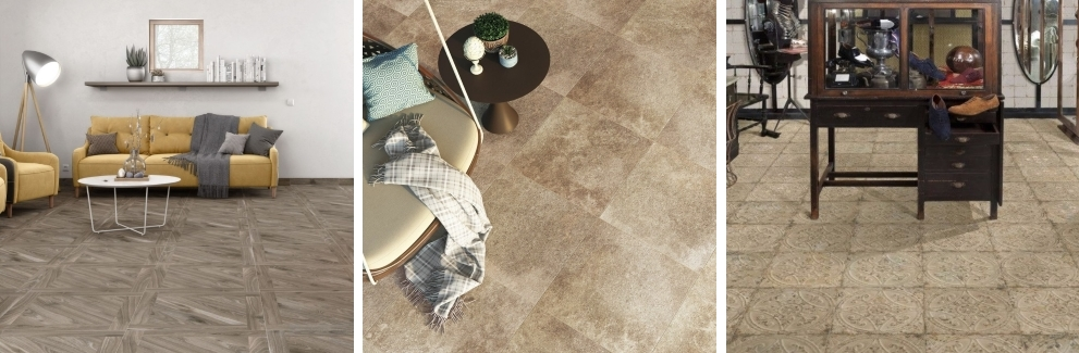 Kanna Ceniza Porcelain Floor Tile | Jardins Anti-Slip Porcelain Floor Tile | Saja Rustic Floor Tile all by Tile Mountain