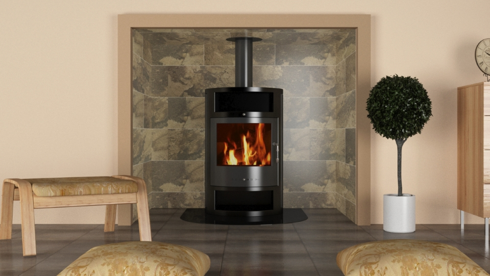 Freezing February Tiles To Use With Fireplaces Woodburners Tile