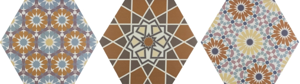Andalucia Patterned Porcelain Wall And Floor | Tile Mountain