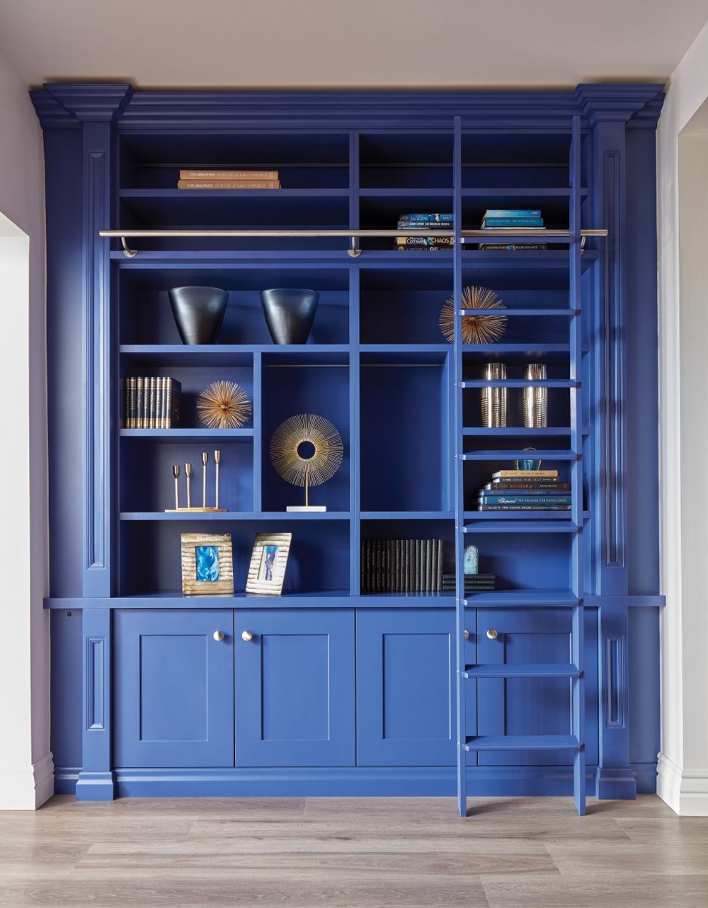 Blue Library | Neville Johnson