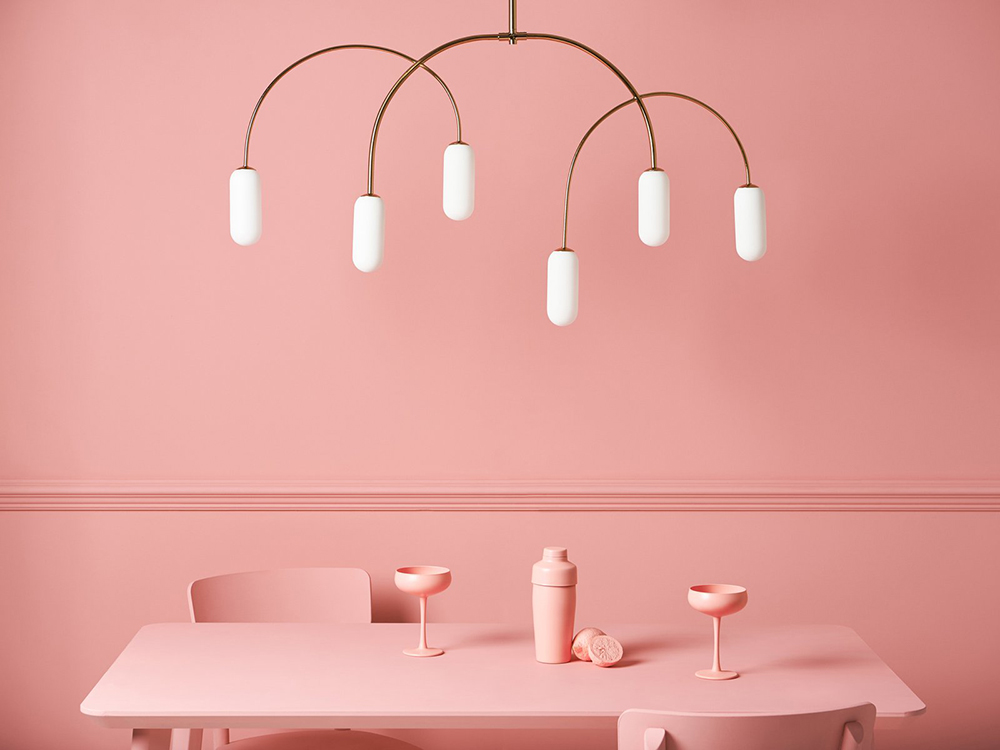 Houseof Horizontal Curve Ceiling Lights