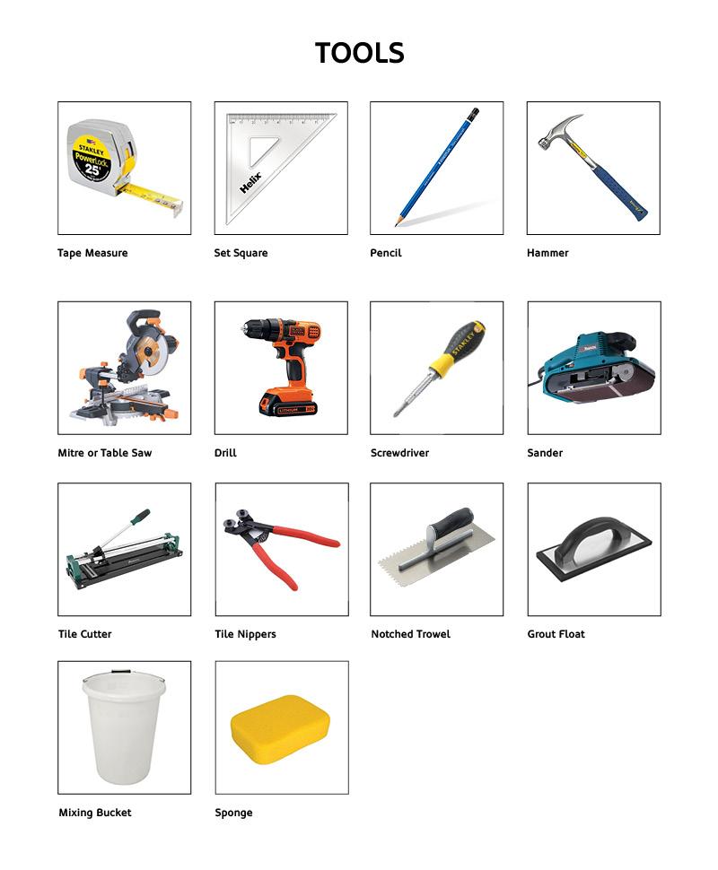 Outdoor Bar Tools Checklist