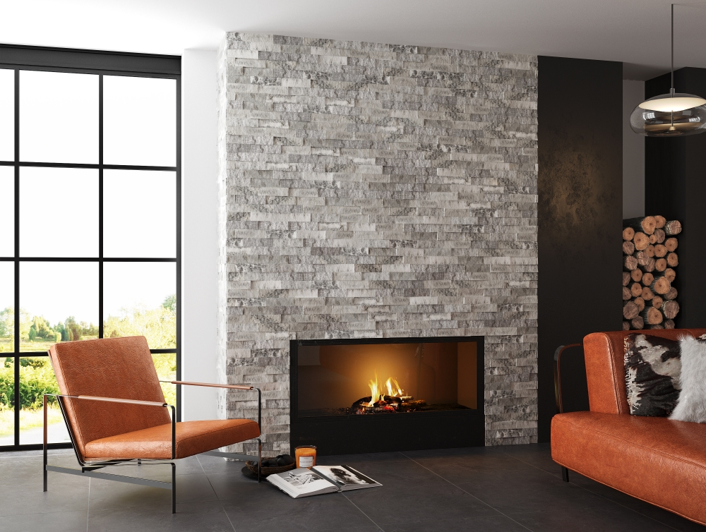 Sparkle Ice Grey Split Face Mosaic | Tile Mountain