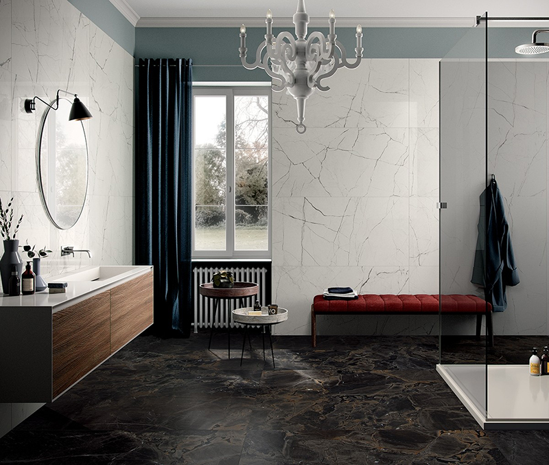 Room Black Polished Porcelain | Tile Mountain