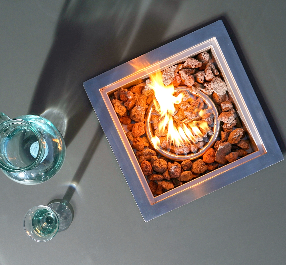 Romero Gas Fire Pit Table | Danetti