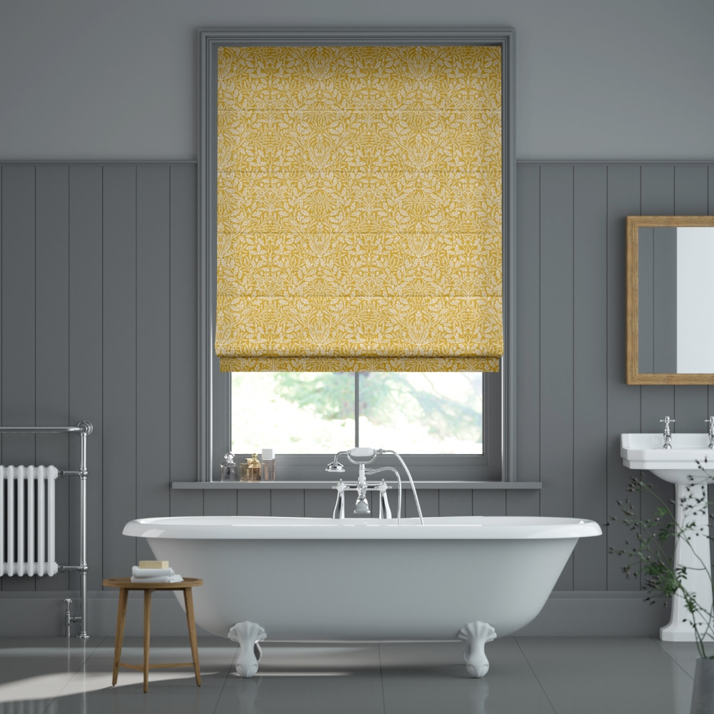 William Morris Acorn in Sunshine | Blinds2Go