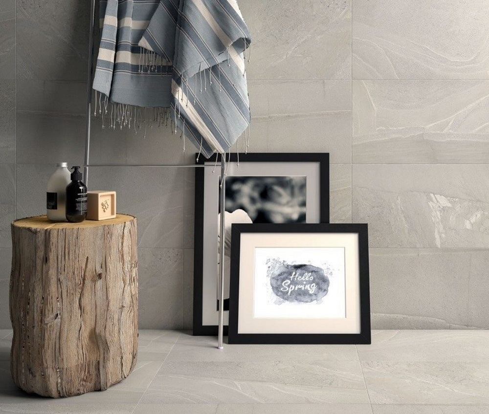Stoneline Grey Matt Wall and Floor | Tile Mountain