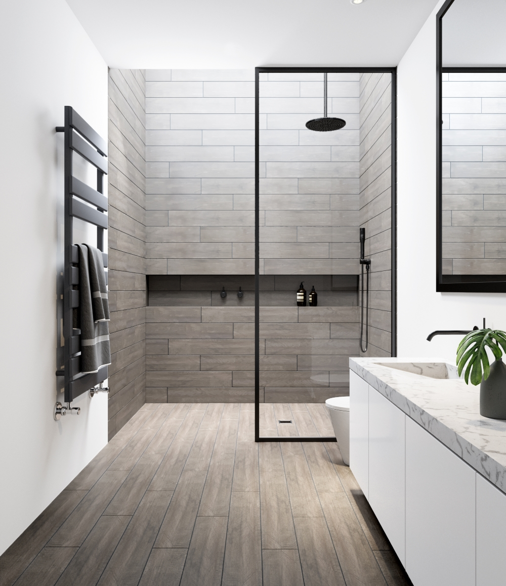 Country Khaki Wood Effect Wall and Floor | Tile Mountain