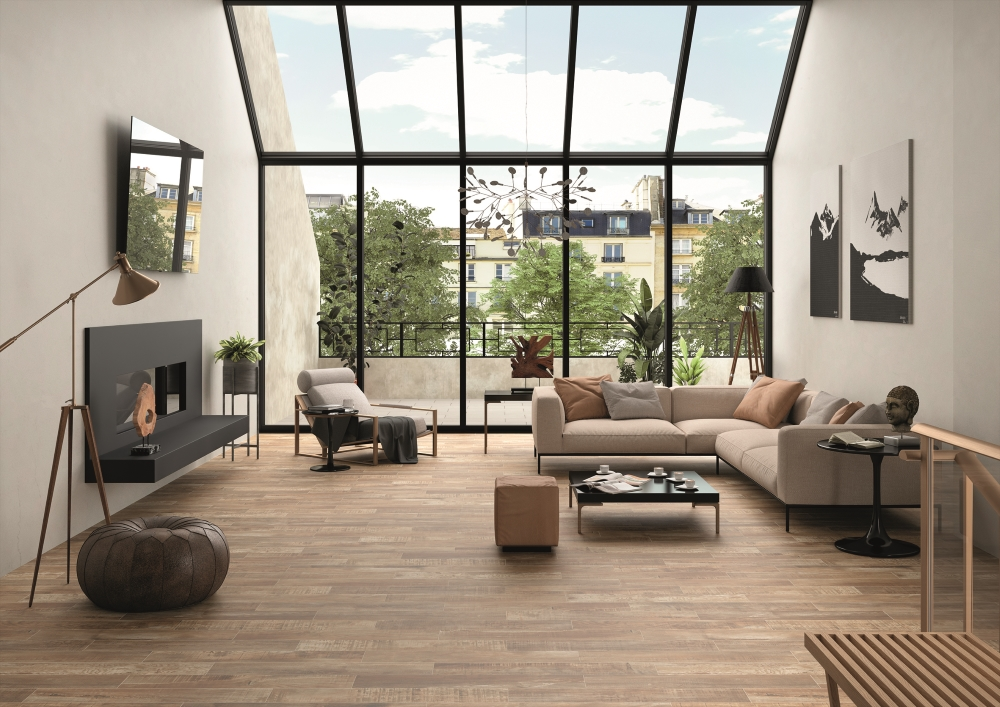 Mikeno Honey Wood Effect Wall And Floor | Tile Mountain