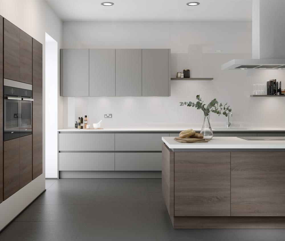 Profile Handleless Kitchen | Trend Interiors