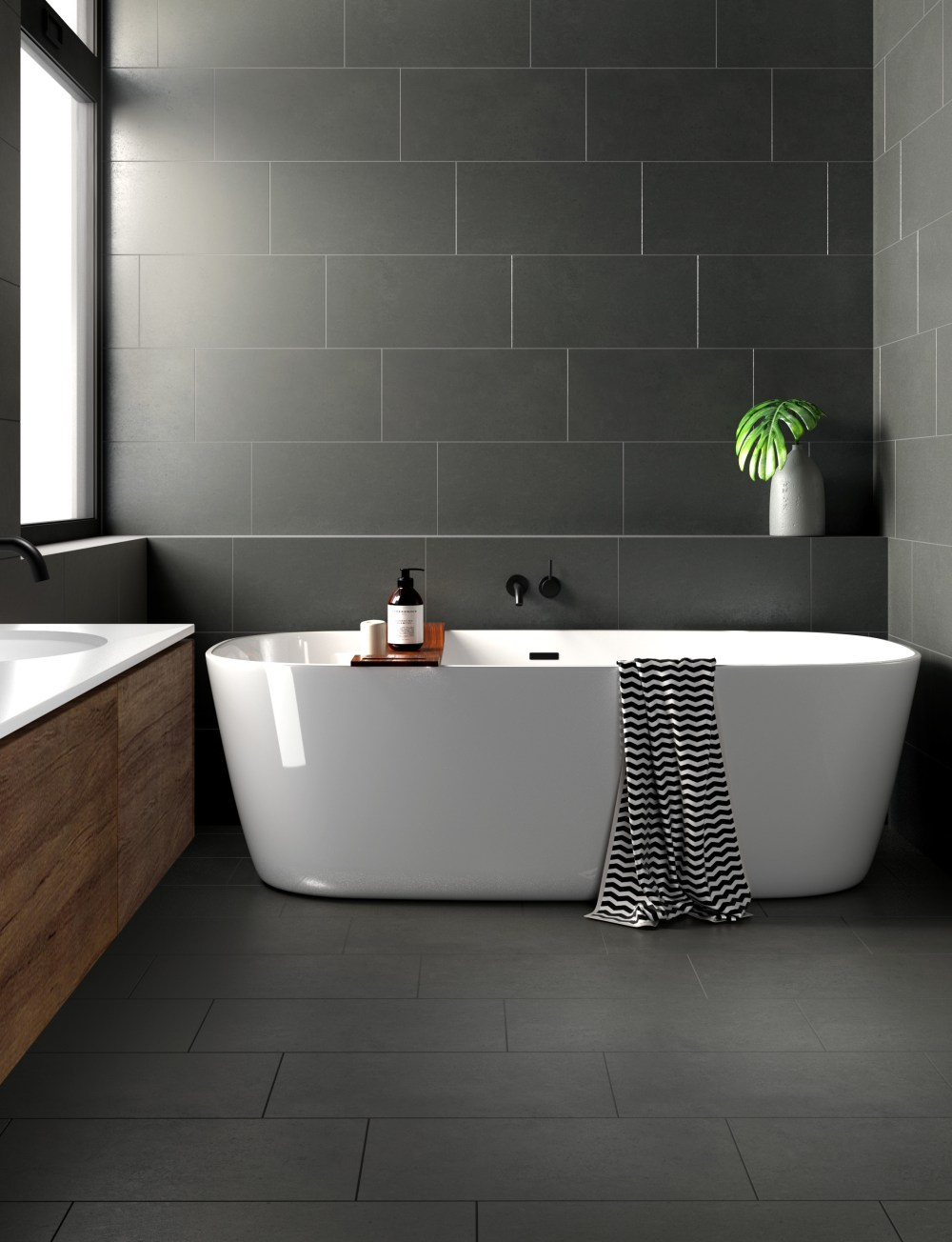 Surface Mid Grey Lapatto | Tile Mountain