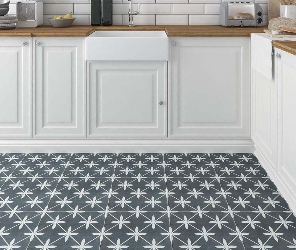Wicker Grey Pattern | Tile Mountain