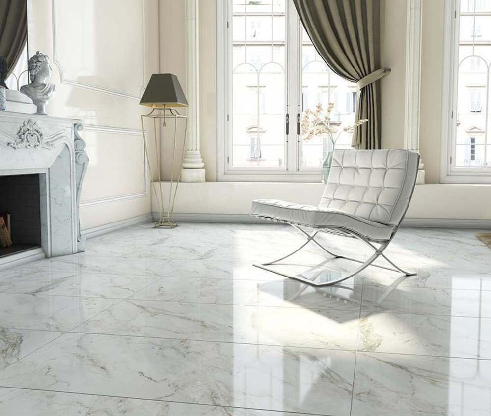 Anderson White Polished | Tile Mountain