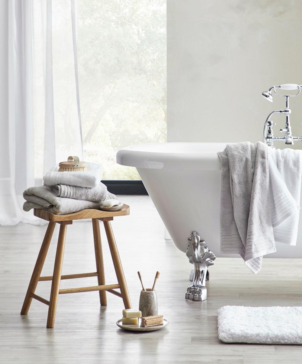 Purity Range of Bathroom Towels & Accessories | Dorma at Dunelm