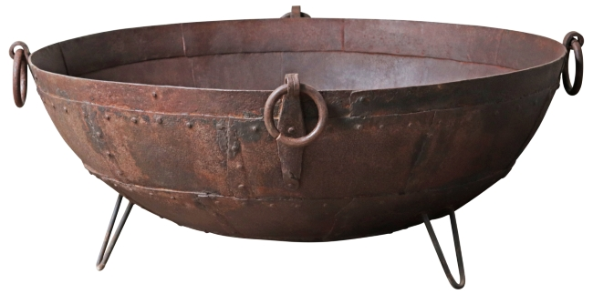 Kadai Fire Bowls & Pits | Cast In Style,