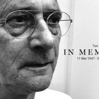 In Memoriam - Ton Lange 1947 - 2017