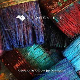 Crossville's Color Trend Look Book Based on Pantone's 'Vibrant Rebellion' Palette