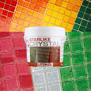 add sparkle and color to your grout