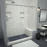 Shower Bench Seats Built In Corner Seating Tile Redi