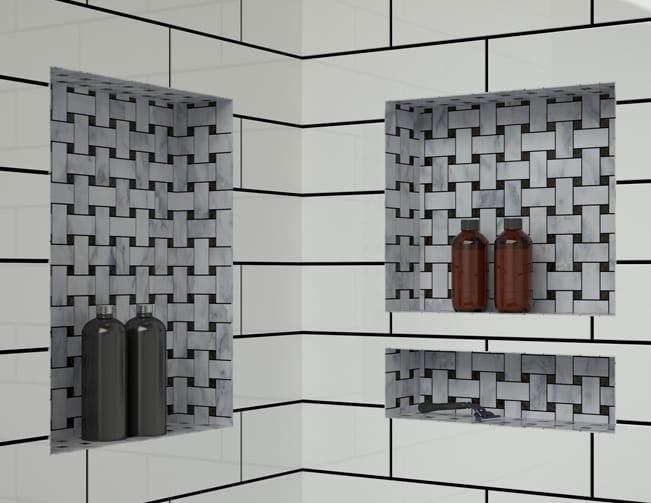 Shower Pans Bases Amp Shelves Tile Redi