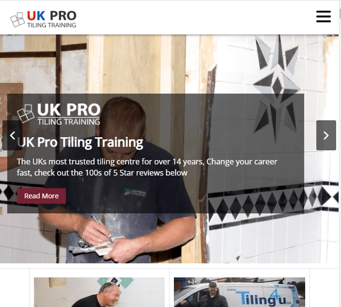 UK Pro Tiling Training Tiling Courses