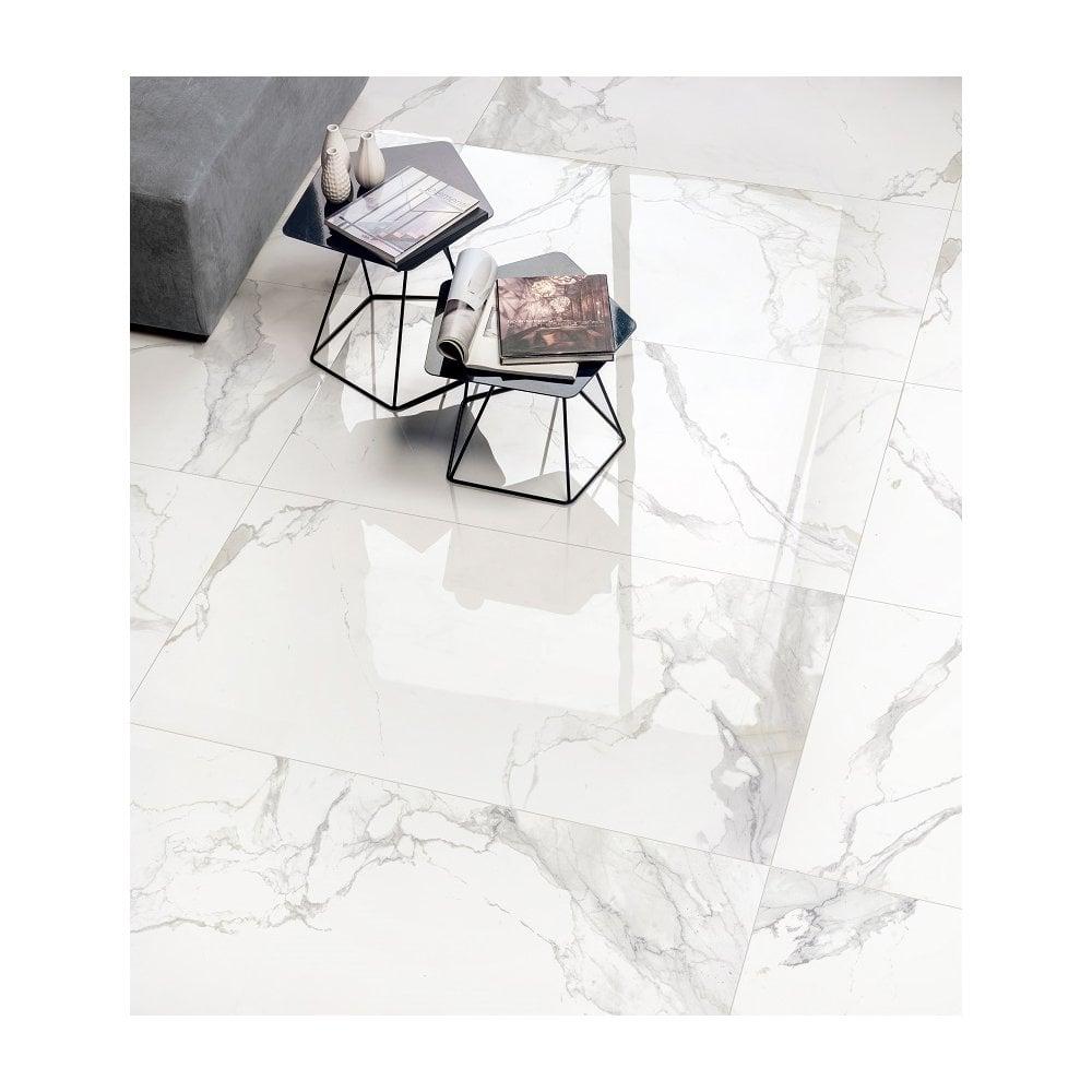 q marmi grey vein matt 45cm x 90cm wall floor tile