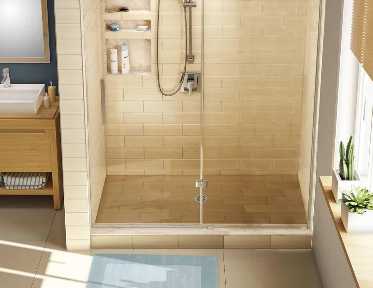 tile shower diy