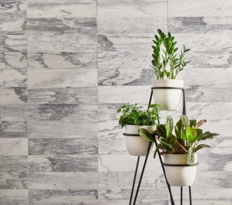 to clean natural stone tile flooring