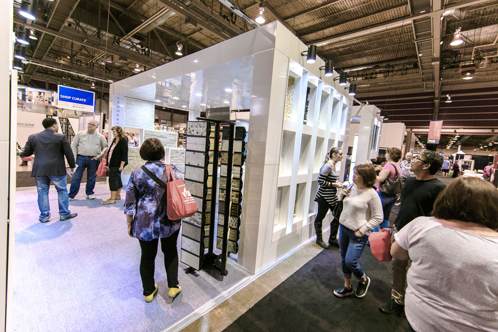 Jeffrey Court and booth at the Calgary Home + Design Show