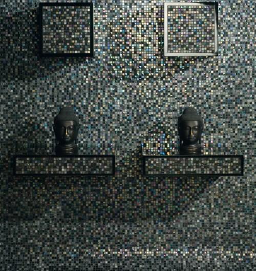 Iridescent mosaic