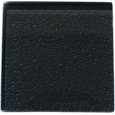 Metallic black glass kitchen tile