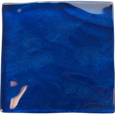 Blue blue electric blue glass tile