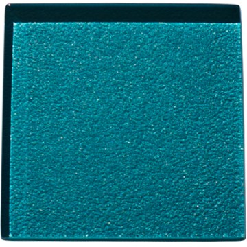Lagoon coloured glass tile
