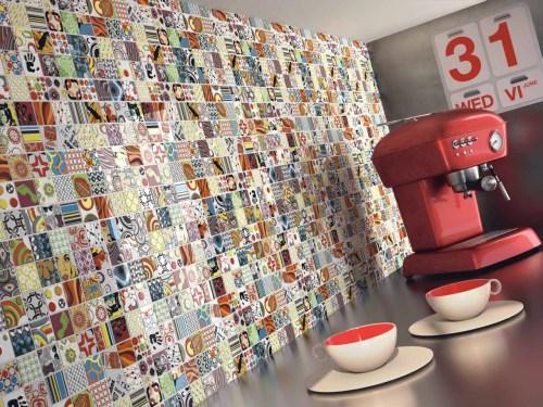 Abstract Mosaic Pop Art
