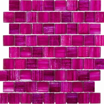 Nice pink glass mosaic