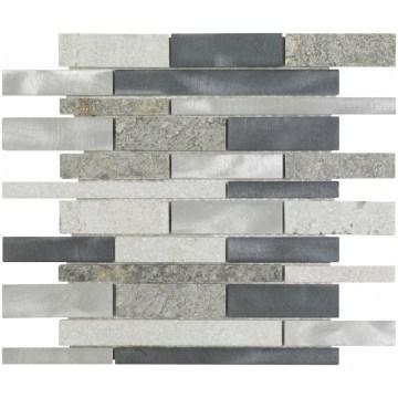 aluminium stone brick