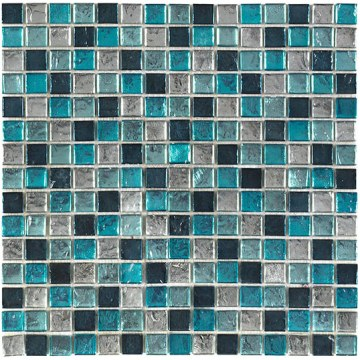 Turquoise Silver Mosiac